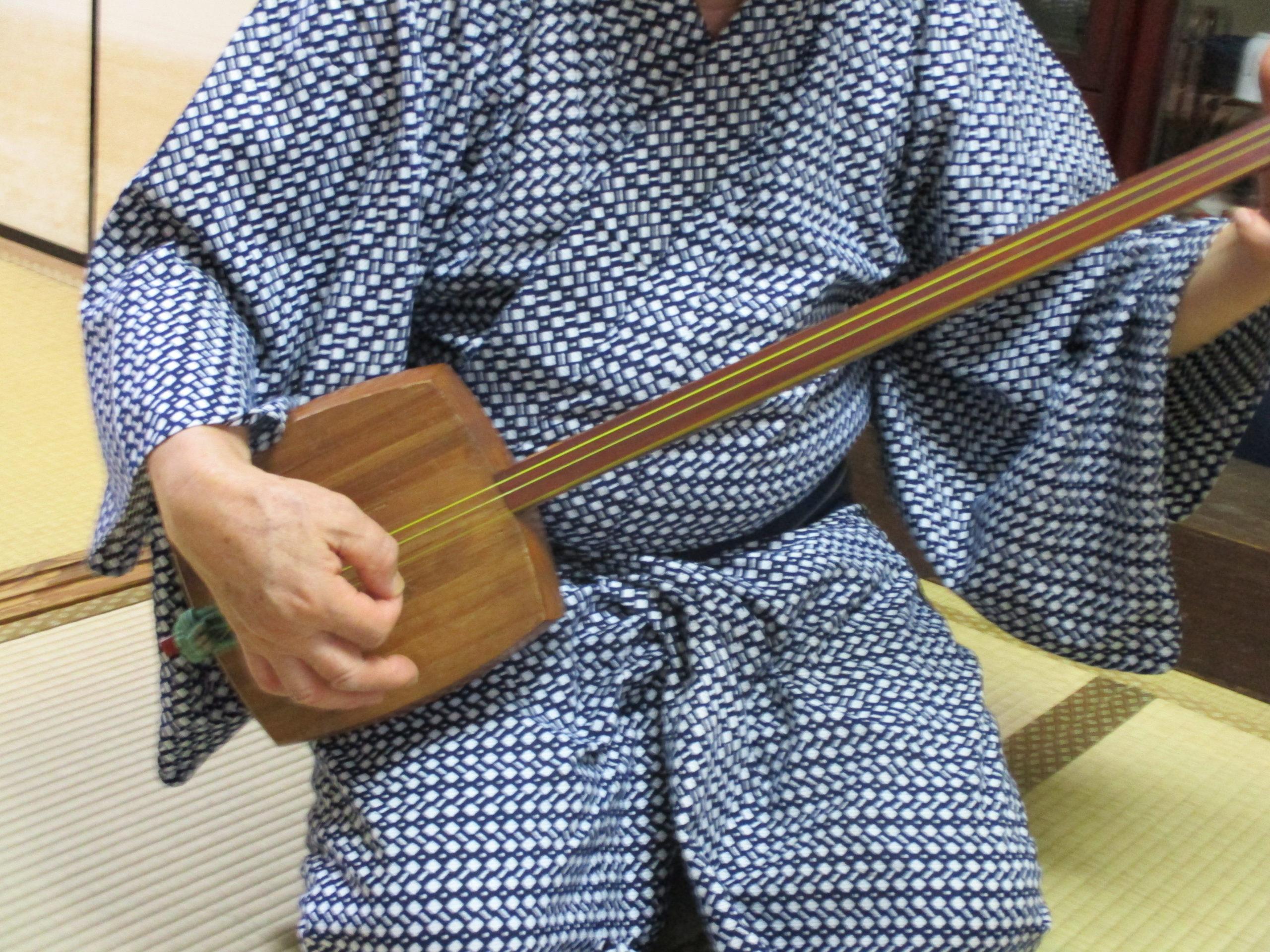 100年前の三味線 〜幻の竹棹を寄贈